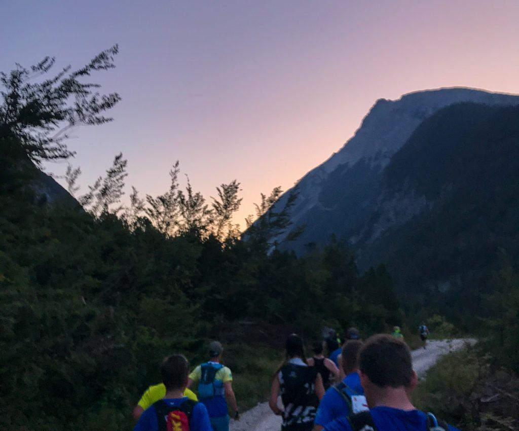 Karwendelmarsch: Morgenrot