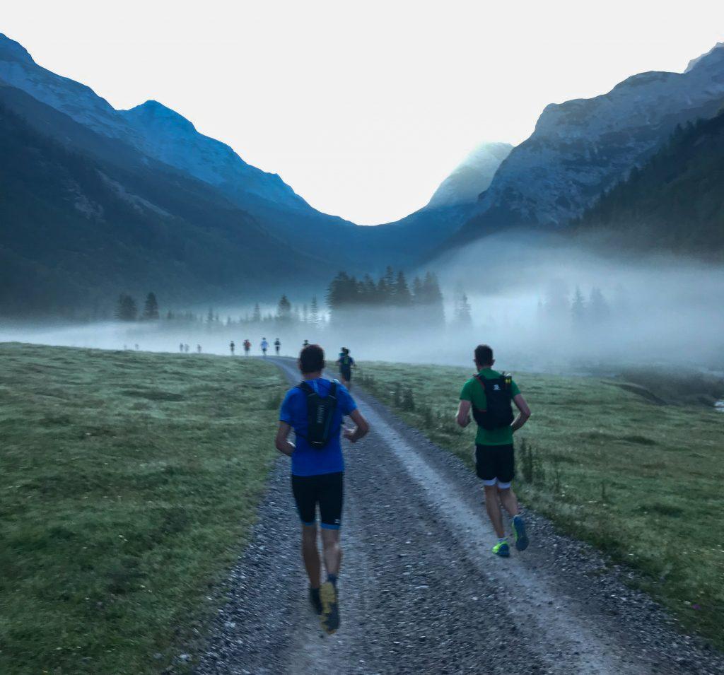 Nebel im Karwendelgebirge