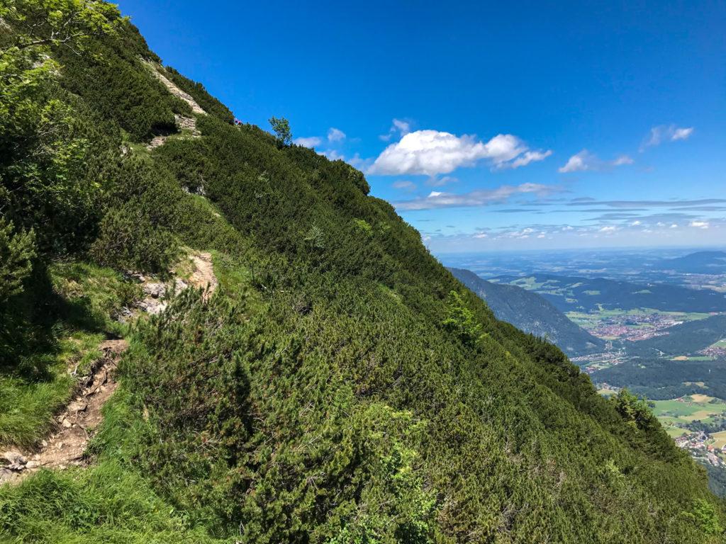 Trailrunning auf dem Alpgartensteig