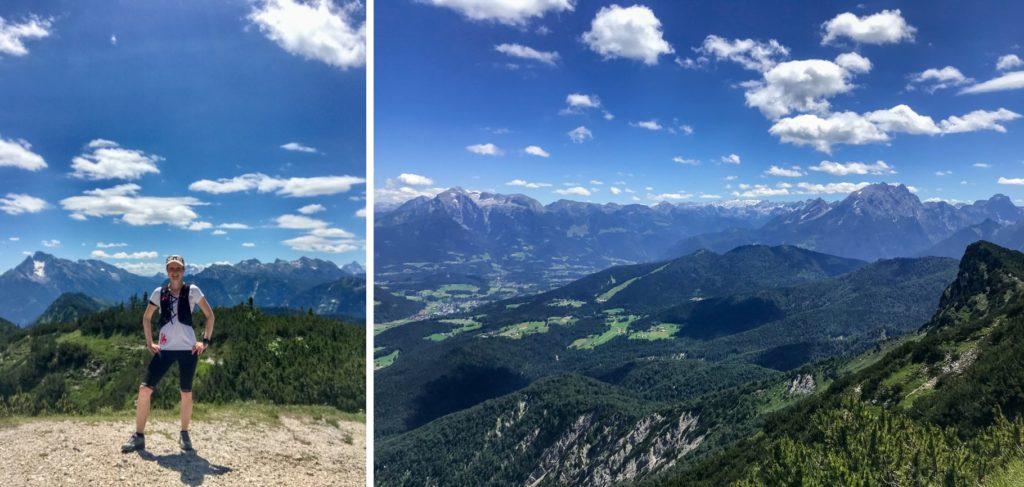 Gipfelaussicht vom Karkopf.