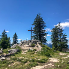Trailrunning-Tour über Alpgartensteig, Predigtstuhl und Steinerne Agnes