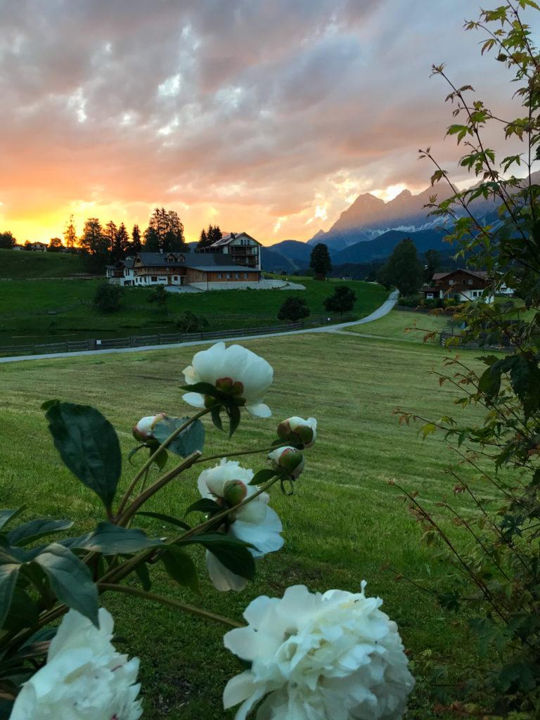 Dachsteingebirge Abendrot