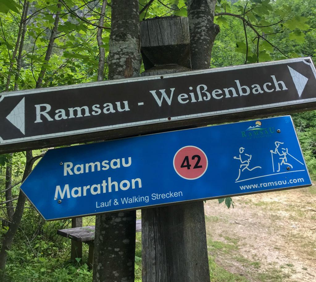 Ramsau Marathon Schilder