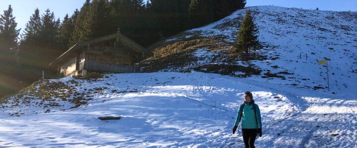 Wandern im Winterwonderland
