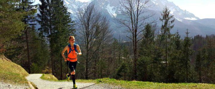 Laufen in den Bergen