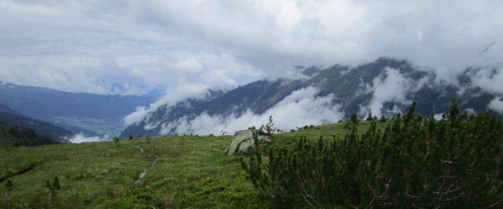 Pitztal Trail, 1. Tag: Wiese – Piösmes