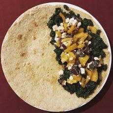 Omelette mit Gemüse & Schafskäse