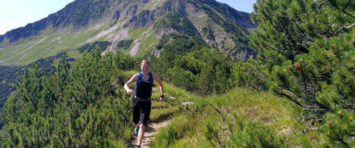 Trailrunning in den Blaubergen