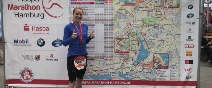 Hamburg Marathon 2018 Finisher