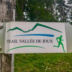Trailrun auf dem Trail Vallée de Joux